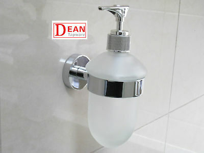 Wall Mounted Bathroom Liquid Soap Dispenser Dish Glass incl.GST Tax Invoice