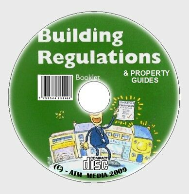 Official Latest Full Uk Building  Regulations New Cd