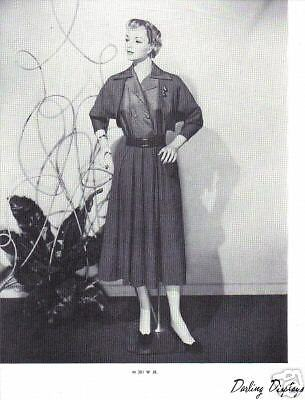 1937 CHARMANT MANNEQUIN Display Photo Advertising M381W