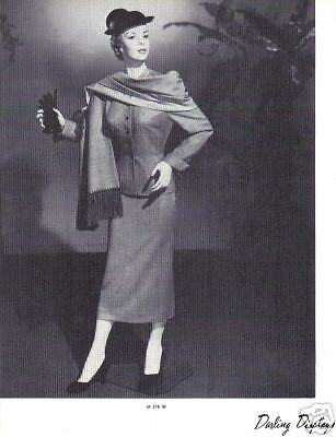 1937 CHARMANT MANNEQUIN Display Photo Advertising M378W