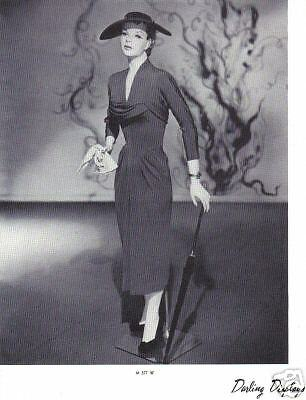 1937 CHARMANT MANNEQUIN Display Photo Advertising M377W