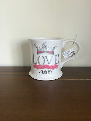 RUSS Ceramic Mug/Cup Love Forever Valentines/Sweetheart/Engagement Gift