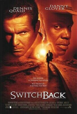 SWITCHBACK - 27X40 Original Movie Poster One Sheet 1997