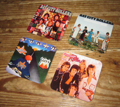 The Bay City Rollers Album Cover COASTER Set