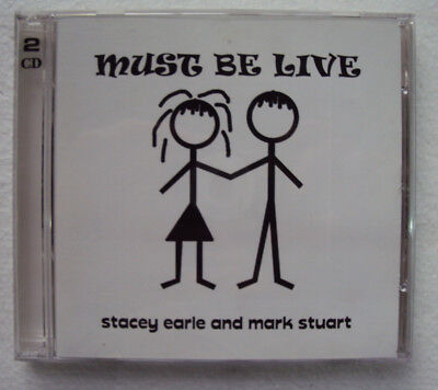 Stacey Earle and Mark Stuart Must Be Live 2CD USA 2003