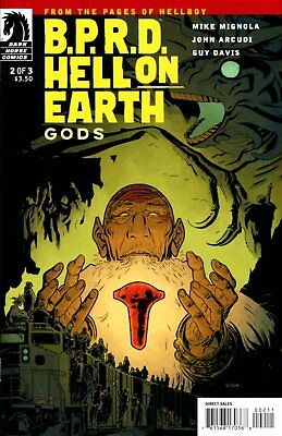 B.P.R.D.: Hell On Earth - Gods #2 (of 3) Hellboy Comic