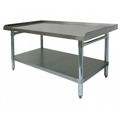 """Stainless Steel Equipment Stand 30""""x18"""" NSF"""