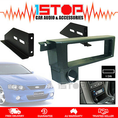 FORD FALCON BA-BF SINGLE-DIN FACIA KIT adaptor dash fascia panel surround trim