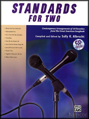 Standards for Two Vocal Duet Singing Book +CD