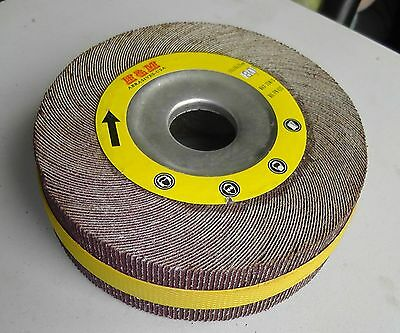 "NEW Flap Wheel 6""x1-1/2""x1"" 120g Bench Pedestal Grinder"