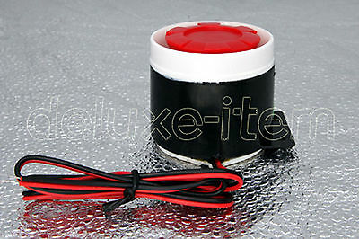 Anti-Theft High dB Super Lond Mini Piezo Siren for Car home Safety Alarm System
