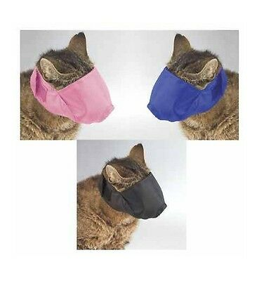 Soft Adjustable Cat Muzzles Perfect For Grooming Three Colors and Muzzle Sizes