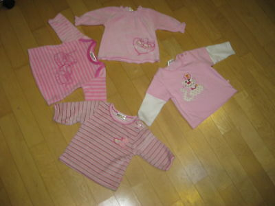 4Teiliges Baby-Paket GIRL  NEUWARE GR. 62 Top!!
