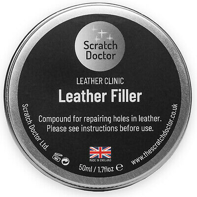 Leather Repair Filler Compound / Restoration Restore Cracks Holes  Scratches etc