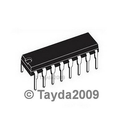 10pcs (5 each) CD4017 4017 IC & 16 Pin DIP IC Sockets