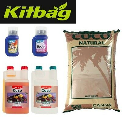 Hydroponics Starter Grow Kit for Grow Tent Feed Canna Coco PK Plant Boost
