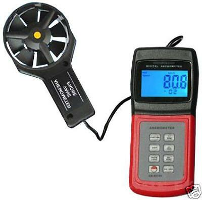 Anemometer Air Flow Speed Temperature Wave Height RS232