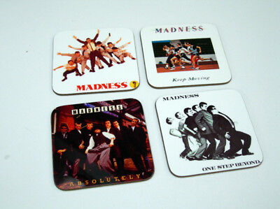 Madness Suggs Album Cover Drinks COASTER Set