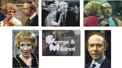 George and Mildred New POSTCARD Set