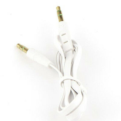 3.5mm to 3.5mm Jack Lead Ipod Gold Aux Input Wire Cable