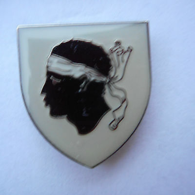 Korsika Corsica Corse Wappen Coat Anstecker ,Pin,Badge