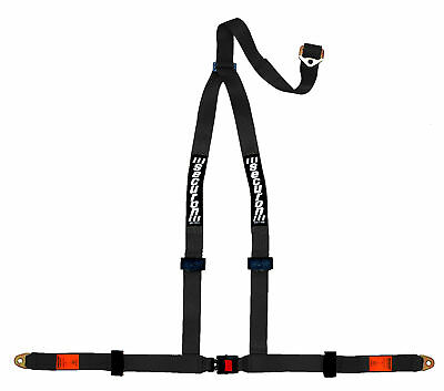 NEW Securon 628/Black 3Point Harness with Anchor Plates