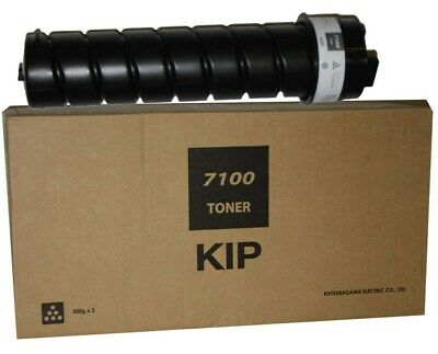 KIP SUP7100-103 | Genuine KIP 7100 | Toner, carton of 2