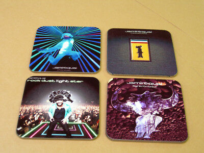 Jamiroquai Album Cover COASTER Set