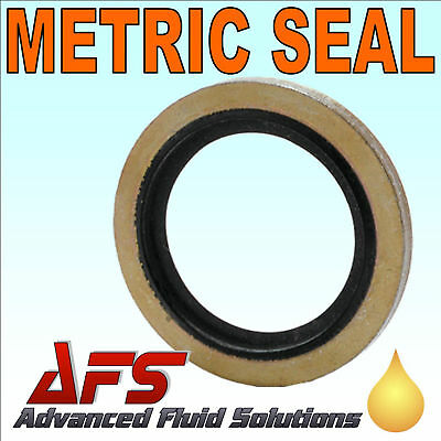 Bonded Dowty Seal Self Centering Washer GERMAN METRIC