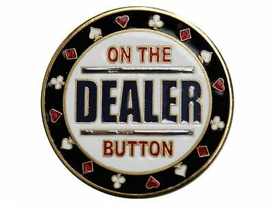 Poker Card Guard - Dealer Button -  Dealer