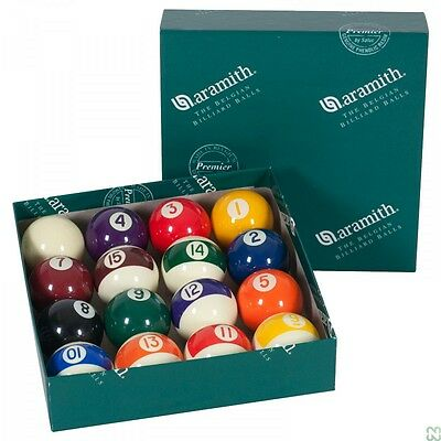 SET 16 PALLE ARAMITH CONTINENTAL POOL 8-15 BILIE 38mm
