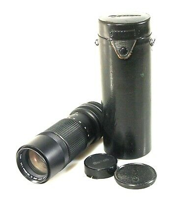 Canon 100-200Mm F5.6 Fd W/ Front And Rear Caps And Case