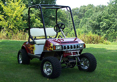 Club Car DS Golf Cart Roll Cage Upper Brush Guard 82-Up