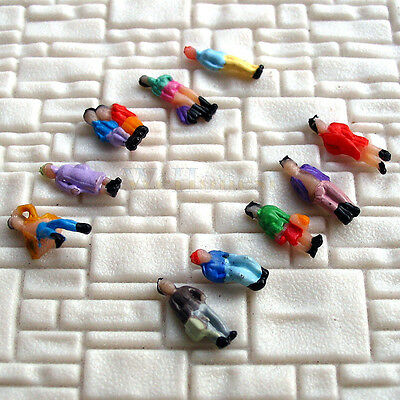 200 pcs Figures Z scale 1:220 Painted People passengers