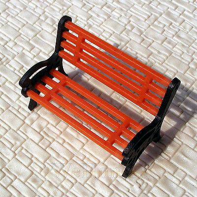 10 pcs G scale 1:24 Park Benches / platform bench #CBO