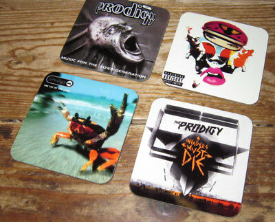 The Prodigy Album Cover COASTER Set