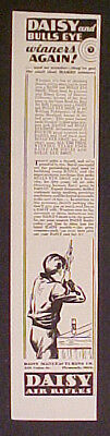 Daisy B B Gun~1934~Western Winchester Air Rifle Toy AD