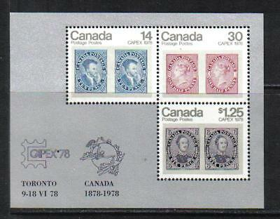 Canada 1978 CAPEX '78 Exhibition ss--Topical (756a) MNH