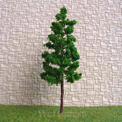 40 pcs Green Model Trees #G8030 for HO / N scale layout