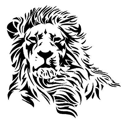 Lion Sticker Decal For Car, Trailer, 4Wd Brand New