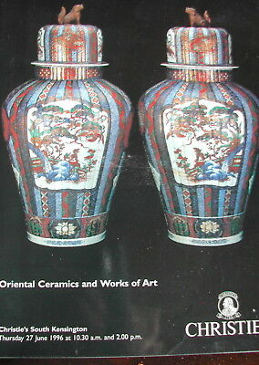 CHRISTIE'S Oriental Ceramics and Works of Art 6-27-1996 Kensington