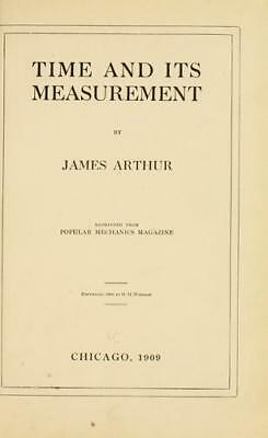 Time and its Measurement by James Arthur – Book on CD