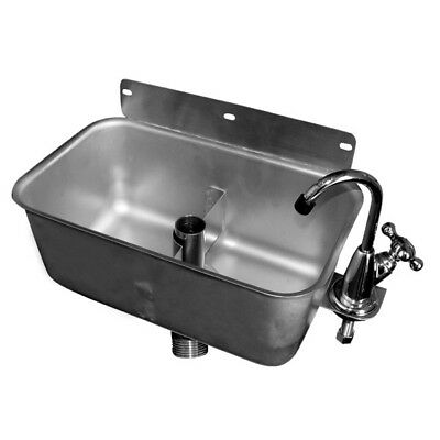 Dipperwell Sink, Wall Mount NSF *No Lead* Faucet