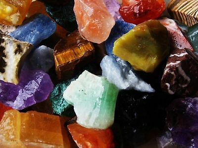 2000 Carat Lots of Natural Tumble Rough - Extremely Nice + FREE Faceted Gemstone