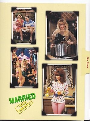 Married with Children Collage Lg File Card Applegate