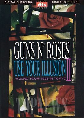 Guns N' Roses: Use Your Illusion II (1992) In Tokyo DVD