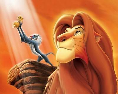 The Lion King Art Poster Print New