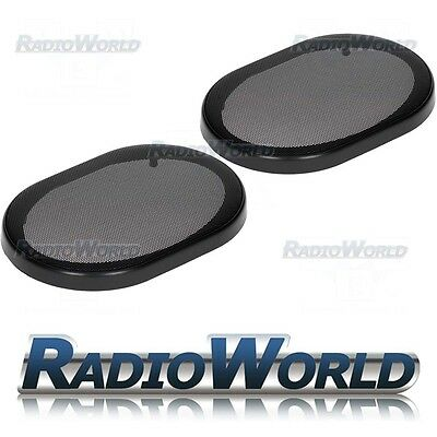 "6x9"" Speaker Grills/Covers Universal Fitment Pair Car/Caravan/Home"
