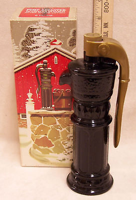 Vintage Avon For Men Water Pump Decanter In Box New
