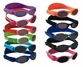 Baby Banz Sunglasses Adventure Band Boys Girls 0-2 Size